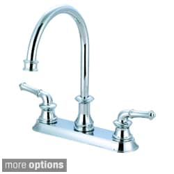 Pioneer Del Mar Series Double-handle Kitchen Widespread Faucet