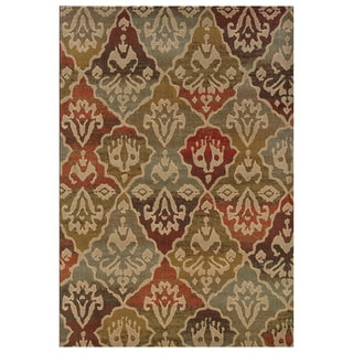 Tribal Panel Multi Rug (5'3 x 7'6)