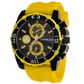 Airwalk Men's Yellow/Black High Roller Chronograph Watch