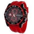 Airwalk Men's Red/Black High Roller Chronograph Watch