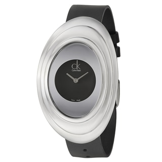 Calvin Klein Women's 'Mound' Steel Swiss Quartz Watch