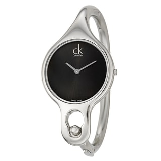 Calvin Klein Women's 'Air' Stainless Steel Swiss Quartz Watch