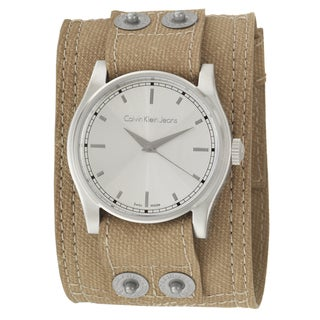 Calvin Klein Jeans Men's 'Variance' Canvas Strap Swiss Quartz Watch