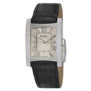 Ebel Men's 'Brasilia' Diamond-accented Swiss Quartz Watch