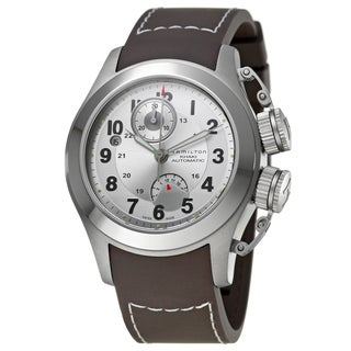 Hamilton Men's 'Khaki Navy' Titanium Swiss Automatic Watch
