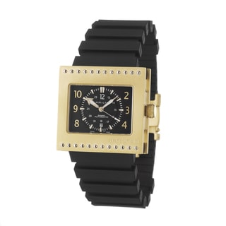 Hamilton Men's 'Khaki Action Code Breaker' Yellow Goldplated Titanium Swiss Automatic Watch