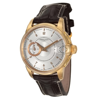 Hamilton Men's 'American Classic' Stainless Steel Yellow Gold PVD Coated Swiss Automatic Watch