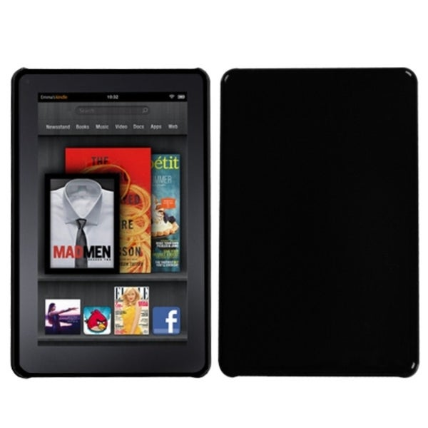 INSTEN Natural Black Back Phone Case Cover for Kindle Fire