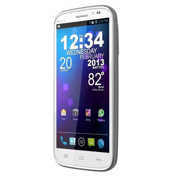BLU Studio White 5.3 inch II D550a GSM Unlocked Dual SIM Android Phone BLU Unlocked GSM Cell Phones