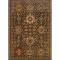 Tribal Brown/ Multi Rug (1'10 x 3'3)