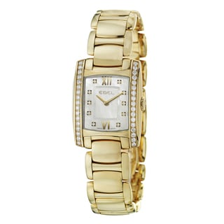 Ebel Women's 'Brasilia' 18k Yellow Gold Swiss Quartz Watch