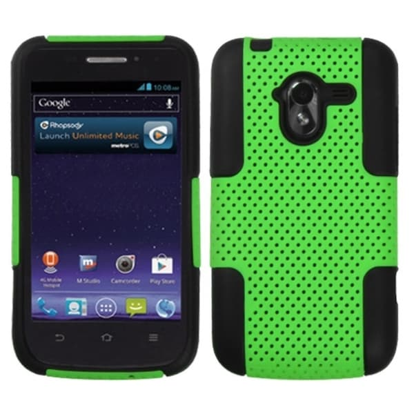 INSTEN Green/ Black Astronoot Phone Case Cover for ZTE N9120 Avid 4G