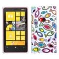 BasAcc Fish World/ White Candy Skin Case for Nokia 920 Lumia