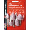 Shop Force 5-Piece Grinding Stone Set