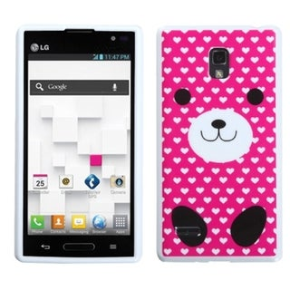 BasAcc Dog Love Candy Skin Case for LG P769 Optimus L9