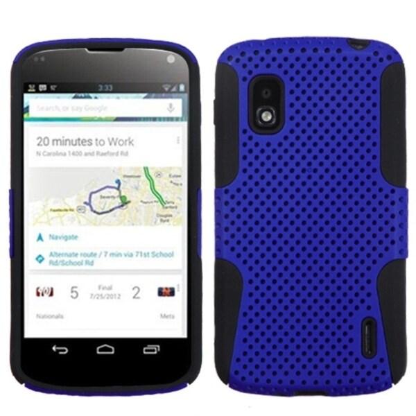 BasAcc Dark Blue/ Black Astronoot Case for LG E960 Nexus 4