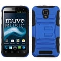 BasAcc Blue/ Black Advanced Armor Stand Case for ZTE V8000 Engage
