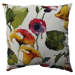 Pillow Perfect Brookwater Floral 23-inch Floor Pillow