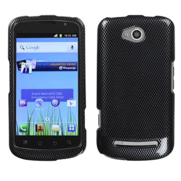 INSTEN Carbon Fiber Phone Case Cover for Coolpad Quattro 4G