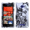 BasAcc Butterfly Monochrome Case for HTC Windows Phone 8X