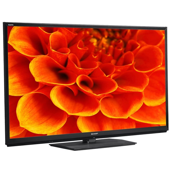 Sharp AQUOS LC60C7450U Black 3D 60-inch 1080p LED HDTV Referbished