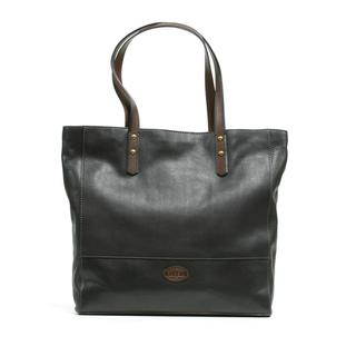 Fossil 'Zoey' Black Leather Tote