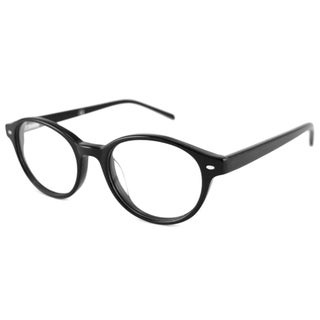 Black V Optique Readers Men's/Unisex VN0105 Oval Reading Glasses