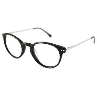 V Optique Readers Men's/Unisex VN0106 Oval Reading Glasses with Slip-In Case