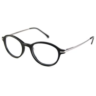 V Optique Readers Men's/Unisex Black VN0109 Oval Reading Glasses