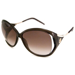 Roberto Cavalli Women's RC573S Clivia Rectangular Sunglasses