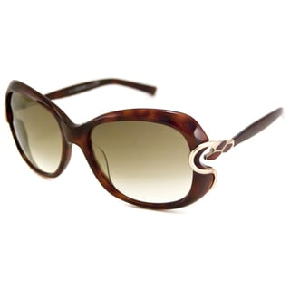 Roberto Cavalli Women's RC587S Melissa Rectangular Sunglasses