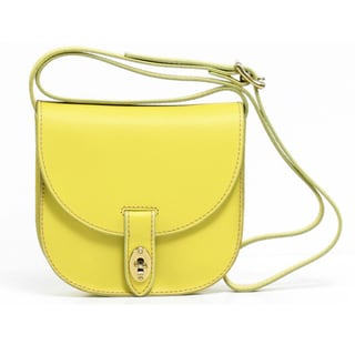 Fossil 'Austin' Small Citrus Leather Crossbody Bag