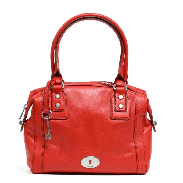 Fossil Marlow Tomato Satchel