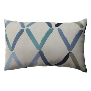 Pillow Perfect Diamonte Geo Rectangular Throw Pillow