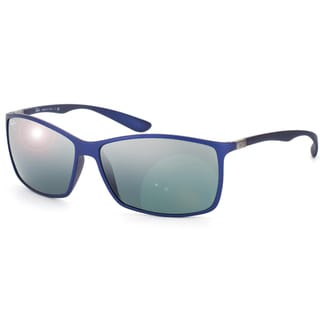 Ray-Ban Tech Unisex Liteforce Matte Blue Sunglasses