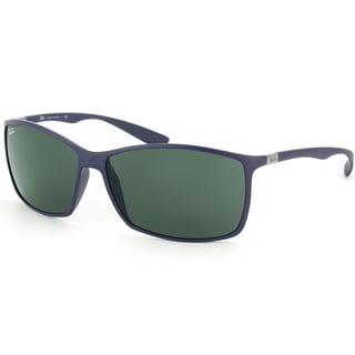 Ray-Ban 4179 Liteforce 883/71 Matte Blue Sunglasses