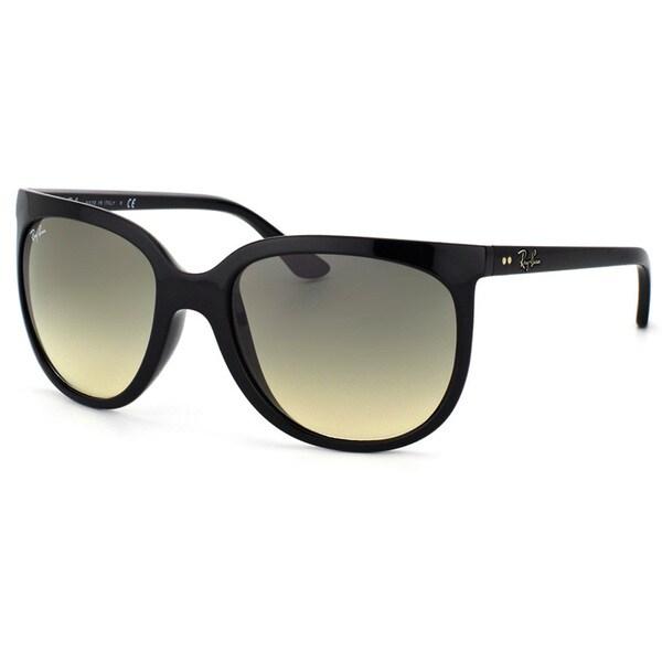 Ray-Ban Women's Shiny Black Plastic Sunglasses