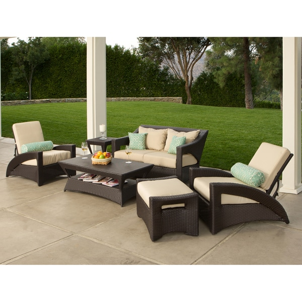 Atlantic Breeze 6-piece Patio Set / Sunbrella