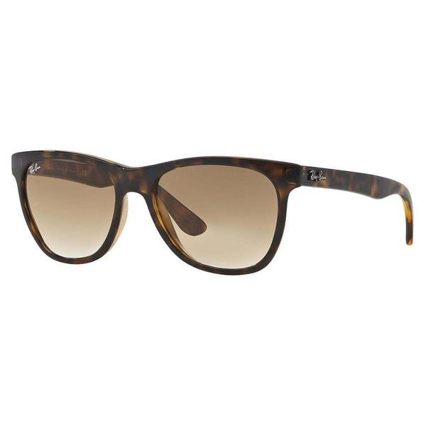 Ray-Ban Unisex Shiny Havana Square Sunglasses