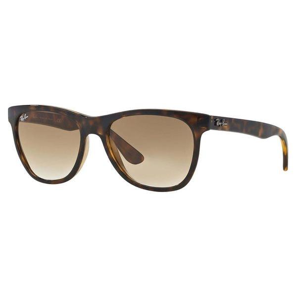 Ray-Ban Unisex Shiny Havana Square Sunglasses