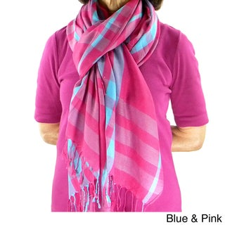 Window Pane Plaid Scarf