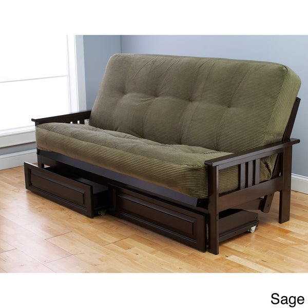 Somette Corduroy Full-size Futon Cover