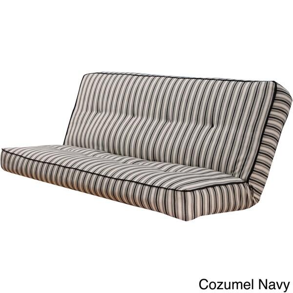 Somette Stripe Full Size Futon Cover 15450101
