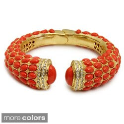 Saachi Resin Stone Hinged Bangle (China)