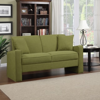 Portfolio Aviva Apple Green Linen Sofa