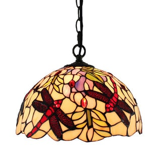 Amora Lighting Dragonfly Hanging Lamp
