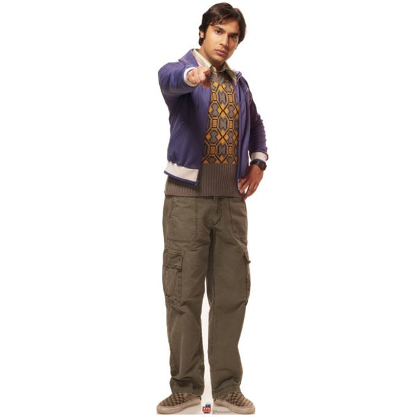 Raj Big Bang Theory Cardboard Standup