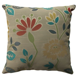Pillow Perfect Floral Fiesta 16.5-inch Throw Pillow