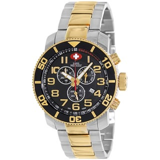 Swiss Precimax Men's Verto Pro Two-Tone Stainless-Steel Swiss Chronograph Watch