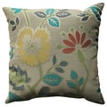 Pillow Perfect Floral Fiesta 18-inch Throw Pillow